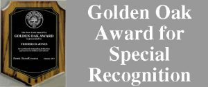Golden Oak Award for Special Recognition